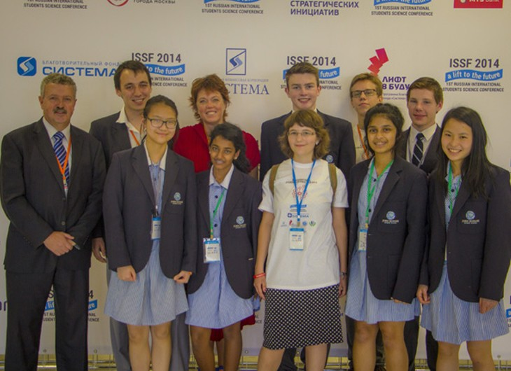 ISSF Moscow 2014 With JMSS Students