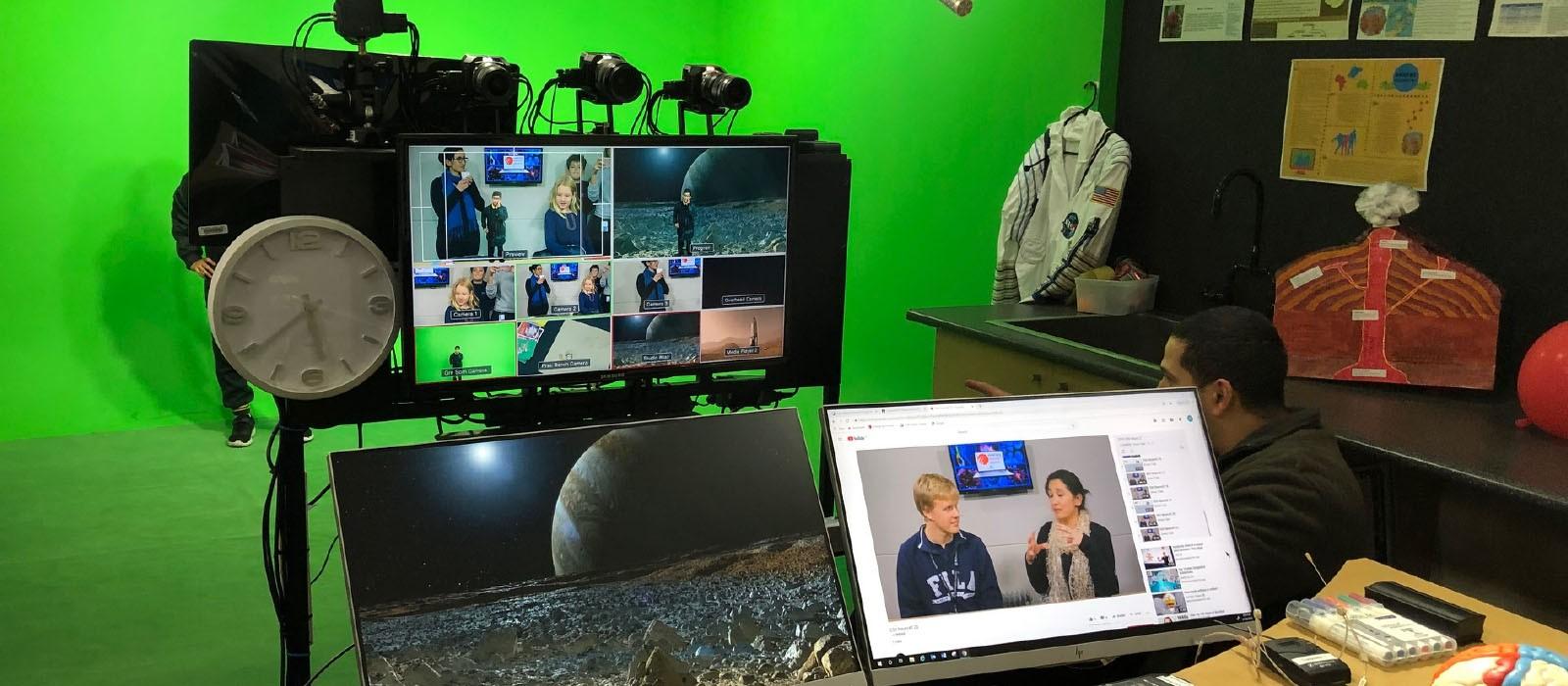 JMSS Broadcast Studio