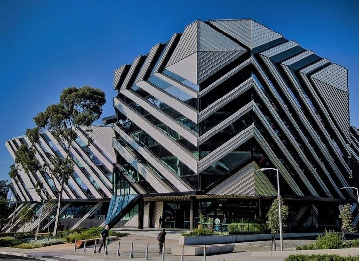 Monash University Building Outside