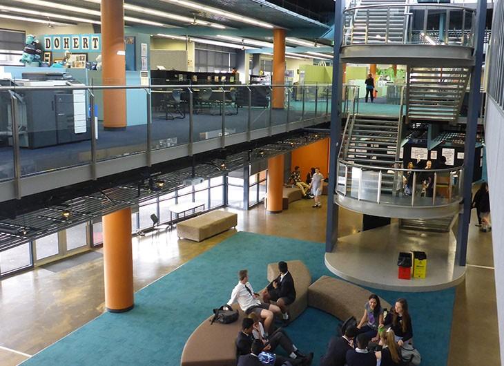 JMSS School Building Inside